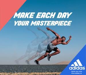 Adidas ad