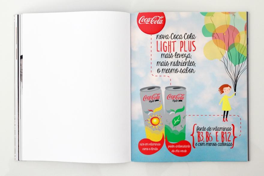 Coca Cola Light Plus single page