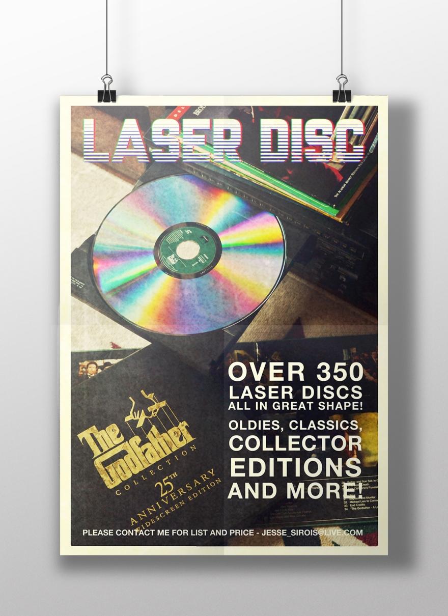 Laser Disc Sale